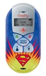 Firefly Mobile Superman Phone - Blue AT&T Cellular Phone R7C-F100 (RARE)